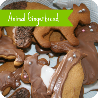animal gingerbread