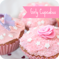 girly cupcakes