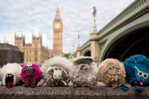 The Campaign for Wool & Shaun the Sheep's Pompom Parade attempt Guinness record at ZSL London Zoo 8